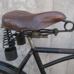 A well-preserved Troxel saddle