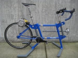 Calfee custom bicycle fitting cycle