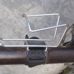 Don't drill holes to mount a bottle cage