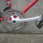 Deore XT cranks with BioPace rings