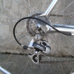 Early Deore XT, replaceable derailleur hanger
