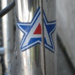 American head badge