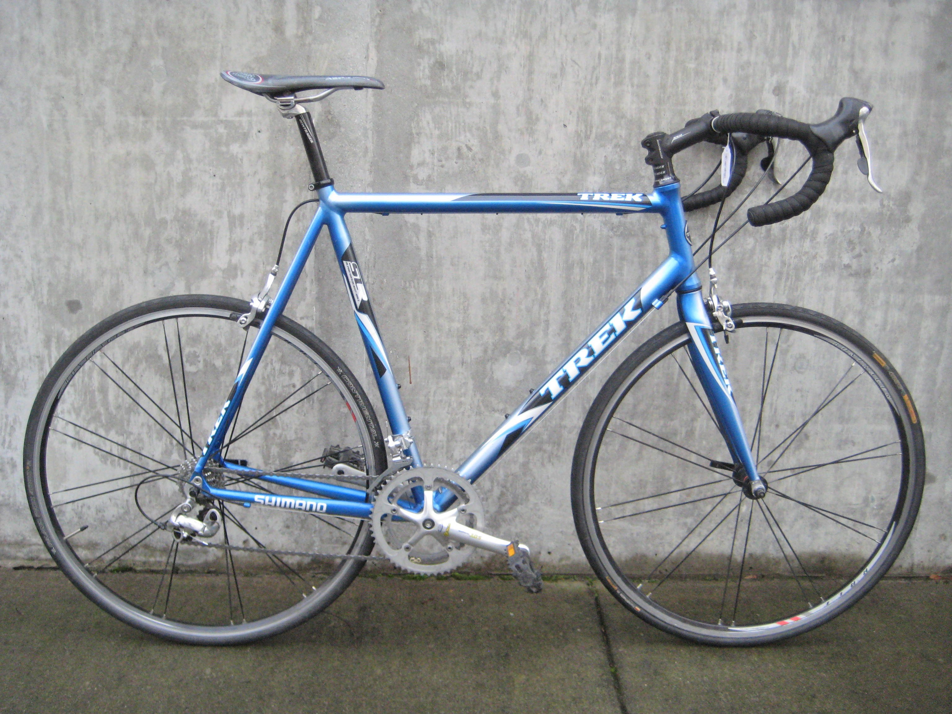 Used 62cm Trek SLR road bike for sale at Classic Cycle