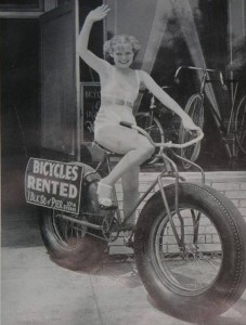 A Fat Bike in the 1940's!