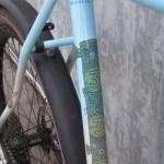 333 Seat tube detail