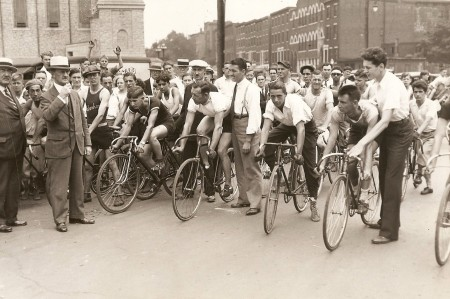 1933 Philly to Willow Grove road race