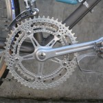 Holes in the chainrings and crank arms