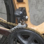 "It's not really a ""braze-on"" derailleur mount, is it?"
