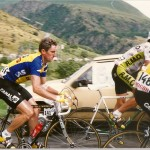 Kas, Sean Kelly & Mavic at the 1988 Tour de France