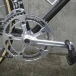 Mavic 630 crank, Look pedals