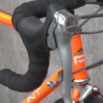 The original brake/shift lever