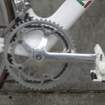 Campy's C Record crank and Look pedals