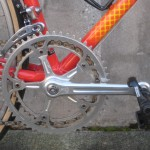 Super Record crank, Look pedals