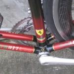 Bottom bracket junction detail
