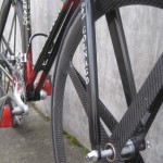Twin downtubes, twin carbon spokes