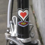 DeRosa head tube badge