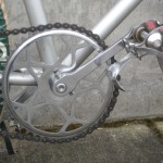 Junior size pedals and cranks