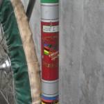Seat tube detail