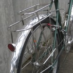 Wavy aluminum fenders