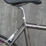 Flite saddle, C Record post