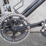 Velo Orange Drillium crankset