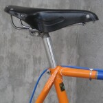 Brooks saddle, Nuovo Record seatpost